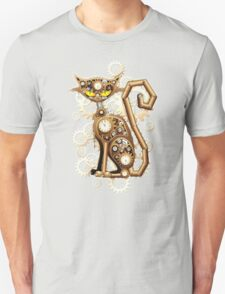 Steampunk Cat Vintage Copper Toy Unisex T-Shirt