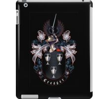 Creager Coat of arms (black background) iPad Case/Skin