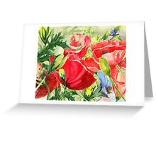 Field of Poppies Greeting Card