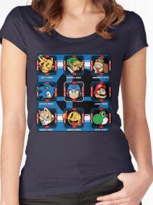 Mega-Smash Women's Fitted Scoop T-Shirt