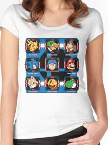 Mega-Smash Women's Fitted Scoop T-Shirt