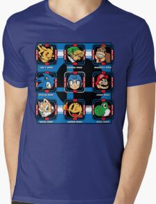 Mega-Smash Mens V-Neck T-Shirt