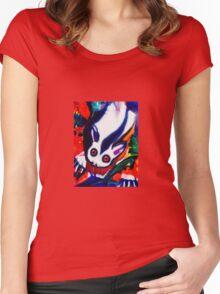 Possum Women's Fitted Scoop T-Shirt