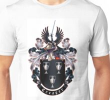 Creager Coat of arms (white background) Unisex T-Shirt