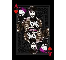 Ace of Hearts Gambit Photographic Print