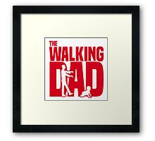 The Walking Dad 2 Framed Print