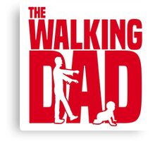 The Walking Dad 2 Canvas Print