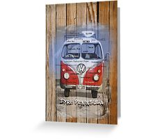 Travel EP Kombi Greeting Card