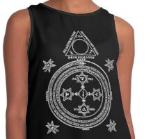 The Magic Circle of King Solomon Contrast Tank