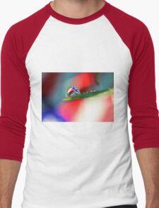Patriotic Rain Men's Baseball ¾ T-Shirt
