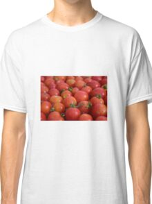 Tomatoes background Classic T-Shirt