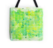 speckled green Tote Bag