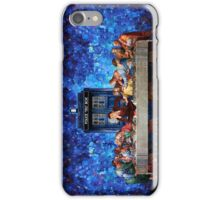 The Doctor Lost in the last Supper iPhone Case/Skin