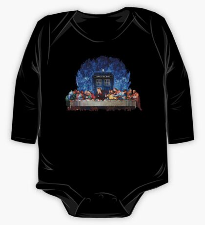 The Doctor Lost in the last Supper One Piece - Long Sleeve