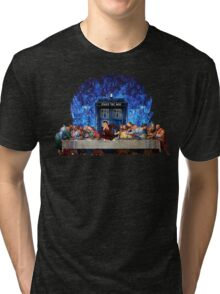 The Doctor Lost in the last Supper Tri-blend T-Shirt