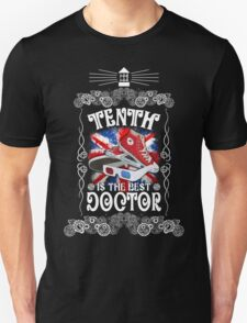 10th is the best doctor typograph Unisex T-Shirt