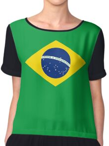 Brazilian duvet cover - Brazil Flag Chiffon Top