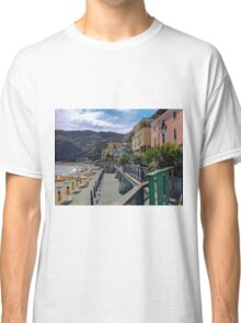 Beach day at Monterroso al Mare, Italy Classic T-Shirt