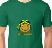 Wah Gwan Jamaican Smiley Unisex T-Shirt