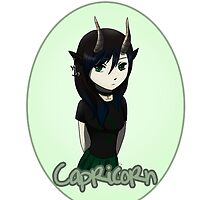 Anime Capricorn by OddworldArt