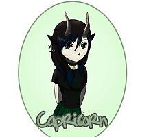 Anime Capricorn by OddworldArt