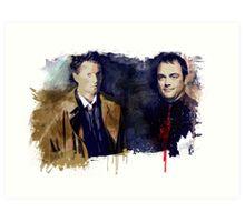 Cas & Crowley Art Print