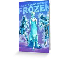 Frozen BADASS Greeting Card