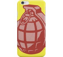 Pop Art Grenade  iPhone Case/Skin