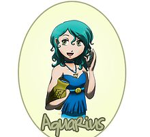 Anime Aquarius by OddworldArt