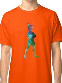 Peter Pan in watercolor Classic T-Shirt
