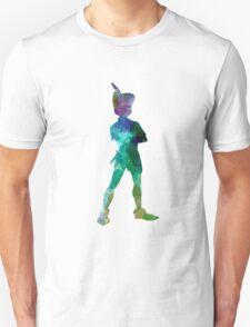 Peter Pan in watercolor Unisex T-Shirt