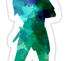 Peter Pan in watercolor Sticker