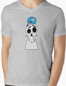 Track Bike Nerd: Grim Edition Mens V-Neck T-Shirt