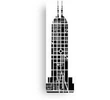 Indy Tower Canvas Print