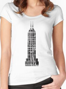 Indy Tower Women's Fitted Scoop T-Shirt
