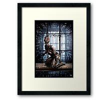 Cyberpunk Painting 031 Framed Print