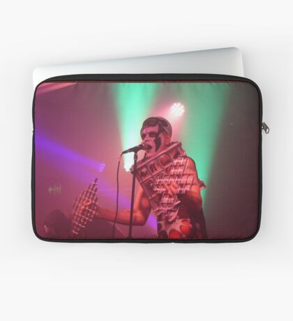 Dee Minor and the discords live on stage Laptop Sleeve
