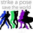 JJBA- Strike a Pose, Save the World! by avatarem