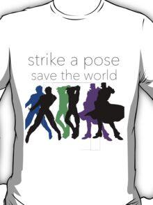 JJBA- Strike a Pose, Save the World! T-Shirt