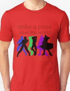 JJBA- Strike a Pose, Save the World! T-Shirt