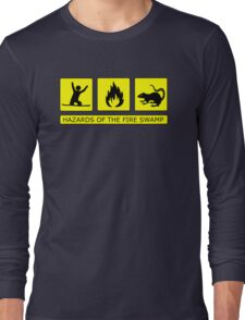 Hazards of The Fire Swamp Long Sleeve T-Shirt
