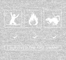 I survived the fire swamp One Piece - Long Sleeve