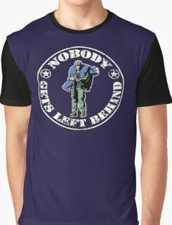 Nobody gets left behind - cookie monster version Graphic T-Shirt