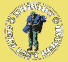 Nobody gets left behind - cookie monster version Baby Tee