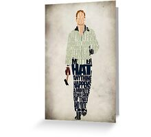 Driver - Ryan Gosling Greeting Card