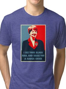 Prime Ministerial Propaganda Tri-blend T-Shirt