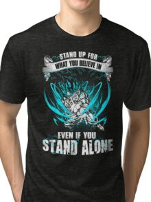 The DragonBall - Even If You Stand Alone Tri-blend T-Shirt