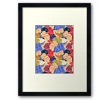 wonderful abstract pattern  Framed Print