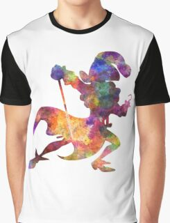 Captain Hook in watercolor Graphic T-Shirt
