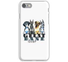Great Dane Lover iPhone Case/Skin